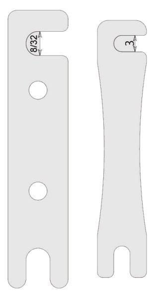 画像1: 0.25mm フロントライドハイトスペーサー (1)
