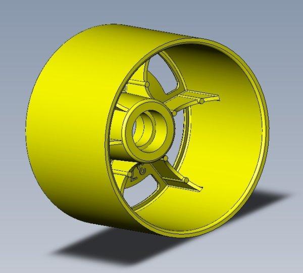 画像1: JFT-0005 1/12用フレックスフロントホイル37.3mm(各3ペア入) (1)